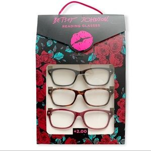 Betsey Johnson Reading Glasses.